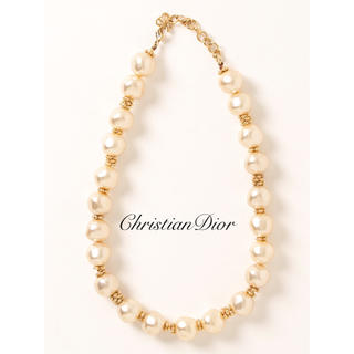 Christian Dior - 【Christian Dior】パールネックレス