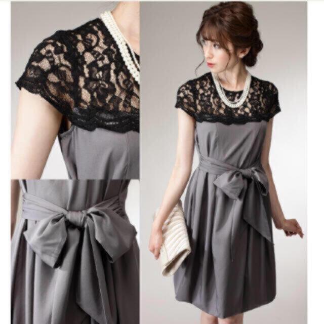 新品♡定価25000円 ドレス ワンピース パーティードレス デートなど レディースのフォーマル/ドレス(ミディアムドレス)の商品写真
