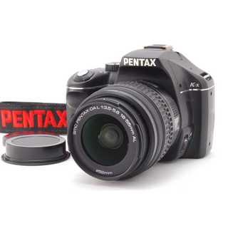 ペンタックス(PENTAX)の★ スマホに転送OK☆ 手振れ補正機能付き♪ ペンタックス K-x ブラック★(デジタル一眼)