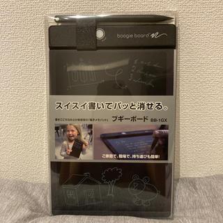 キングジム(キングジム)のキングジム ブギーボード 電子メモパッド BB-1GXクロ(ノート/メモ帳/ふせん)