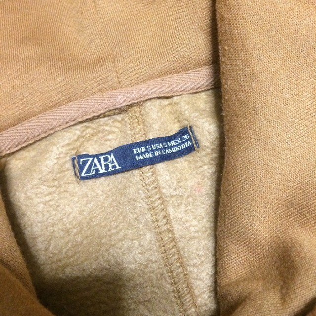 ZARA(ザラ)の【ZARA】ビッグシルエットスウェットフードパーカー レディースのトップス(パーカー)の商品写真