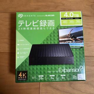 ELECOM - Seagate SGD-JMX040UBK 外付けハードディスク4TBテレビ録画