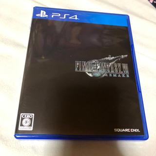 PlayStation4 - ファイナルファンタジーVII リメイク PS4 ケース難あり