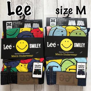 リー(Lee)の〓Lee×smiley〓新品 ボクサーパンツ2枚set   size M(ボクサーパンツ)