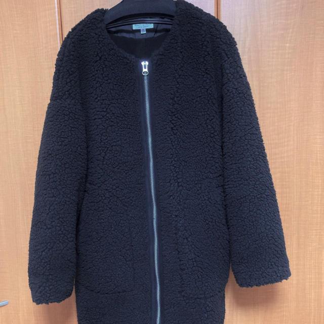 BEAUTY&YOUTH UNITED ARROWS(ビューティアンドユースユナイテッドアローズ)のビューティー&ユースボアコート 未使用品 レディースのジャケット/アウター(ロングコート)の商品写真