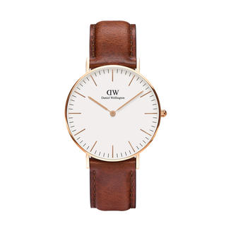 Daniel Wellington - 【36㎜】ダニエル ウェリントン腕時計DW035《3年保証書付》