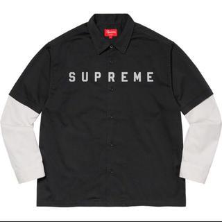 Supreme - Supreme 2-Tone Work Shirt L