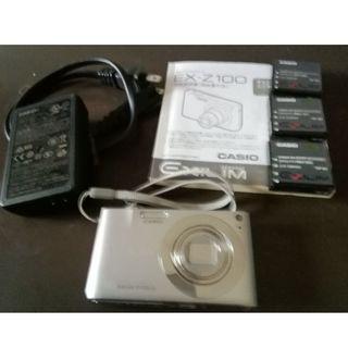 カシオ(CASIO)のCASIO EXILIM EX-Z100(コンパクトデジタルカメラ)