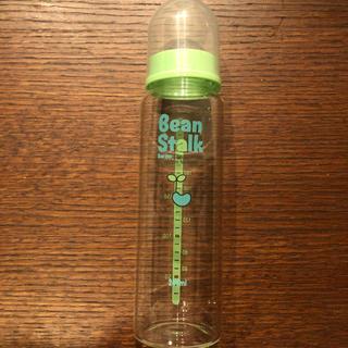 ユキジルシメグミルク(雪印メグミルク)の【美品】ビーンスターク 哺乳瓶 ガラス 240ml (哺乳ビン)