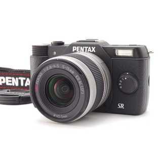 ペンタックス(PENTAX)の★ スマホに転送OK♪ キュートなミラーレス PENTAX Q10 ブラック ★(デジタル一眼)
