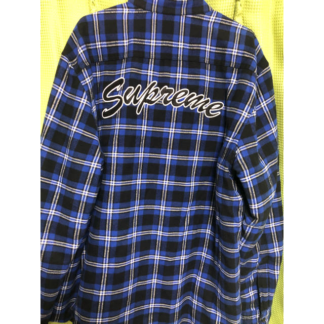 Supreme(シュプリーム)のSupreme Arc Logo Quilted Flannel Shirt メンズのトップス(シャツ)の商品写真