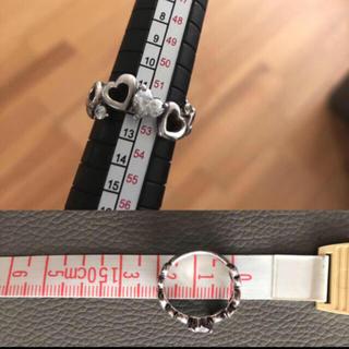 ヨンドシー(4℃)の4℃ ハートリング 指輪(リング(指輪))