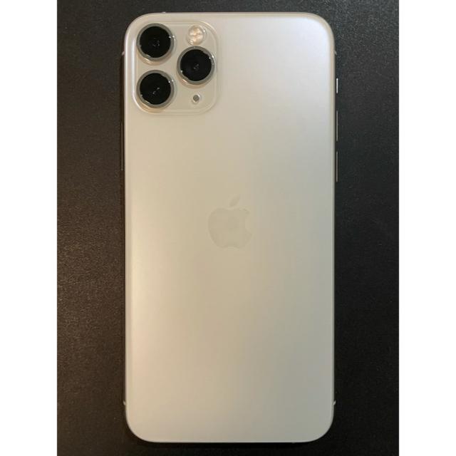 iPhone(アイフォーン)のiPhone11 pro 256GB シルバー SIMフリー スマホ/家電/カメラのスマートフォン/携帯電話(スマートフォン本体)の商品写真