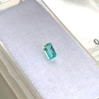 インクルはあるけど綺麗なネオンブルーに癒されるパライバトルマリン0.28ct🎃