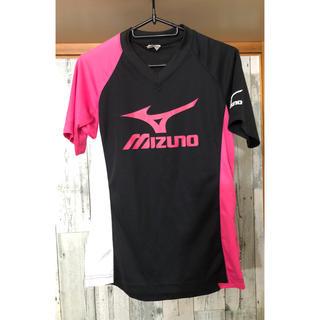 ミズノ(MIZUNO)のミズノ ブラック 半袖Tシャツ(トレーニング用品)