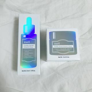 【新品未使用】KLAIRSビタミンドロップ 35ml/ビタミンEマスク 15ml(美容液)