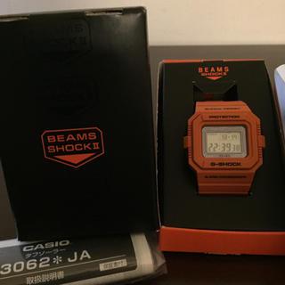 ジーショック(G-SHOCK)のGショック BEAMS コラボ オレンジ (腕時計(デジタル))
