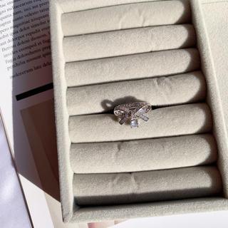チェスティ(Chesty)のリボンリング silver #L47(リング(指輪))
