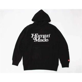 HUMAN MADE×Girls Don't Cry PIZZA HOODIE(パーカー)