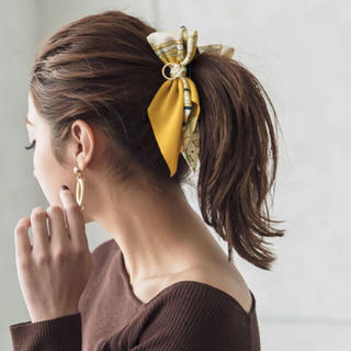 dholic - 大人気!!新品♡ スカーフ バナナクリップ オシャレ ピンク2個セット