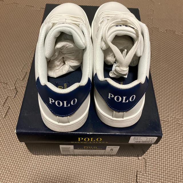POLO RALPH LAUREN(ポロラルフローレン)の新品 POLO ポロ ラルフローレン スニーカー 24.0cm  レディースの靴/シューズ(スニーカー)の商品写真