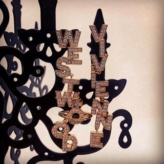 ヴィヴィアンウエストウッド(Vivienne Westwood)の新品未使用 VivienneWestwood SOHOロゴピアス(ピアス)