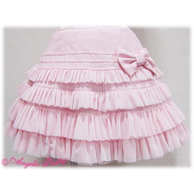 Angelic Pretty(アンジェリックプリティー)のAngelic pretty Pastel Pearl Skirt レディースのスカート(ひざ丈スカート)の商品写真
