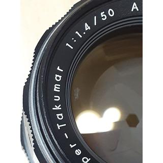 ペンタックス(PENTAX)のpentax 50mm 1.4 m42 122(レンズ(単焦点))