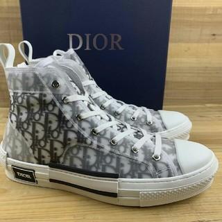 Dior - Dior B23 Oblique High Top Sneakers26cm