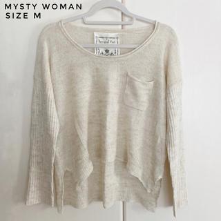 ミスティウーマン(mysty woman)のmysty woman ゆるニット (ニット/セーター)