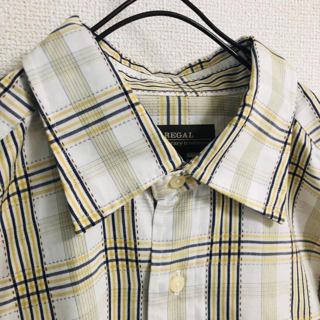 REGAL(リーガル)の美品 REGAL チェックシャツ メンズのトップス(シャツ)の商品写真