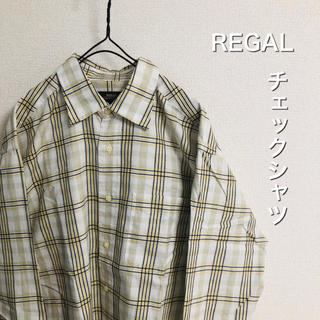 REGAL - 美品 REGAL チェックシャツ