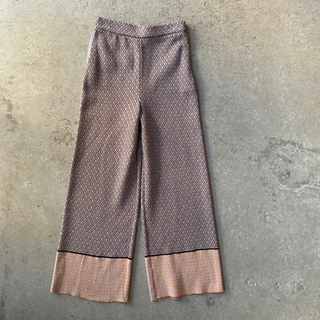 mame - 新品未使用 TAN  タン KOMON JQ PANTS