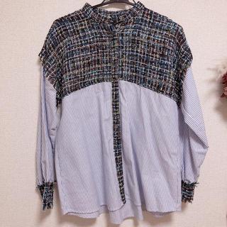ZARA - ZARA ツイードシャツ