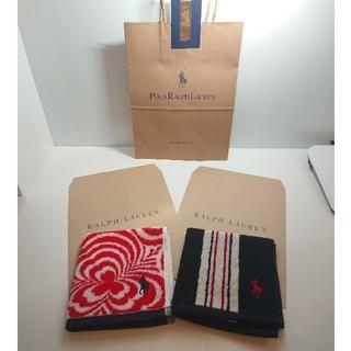 ラルフローレン(Ralph Lauren)のプレゼント用『Ralph Lauren』タオルハンカチセット①(ハンカチ)