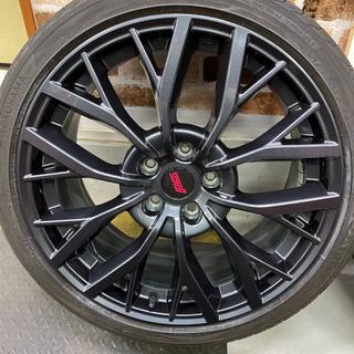 スバル(スバル)のスバル WRX STI VAB D型 純正ホイールタイヤ付(タイヤ・ホイールセット)