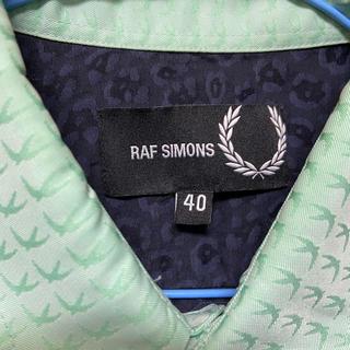 ラフシモンズ(RAF SIMONS)のRAF SIMONS フレッドペリー 総柄シャツ(シャツ)