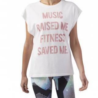 リーボック(Reebok)のReebok Tシャツ フィットネス ジム スポーツ ウェア(ダンス/バレエ)