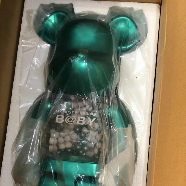 MEDICOM TOY(メディコムトイ)のMY FIRST BE@RBRICK  B@BY  1000% 復刻品 エンタメ/ホビーのおもちゃ/ぬいぐるみ(キャラクターグッズ)の商品写真
