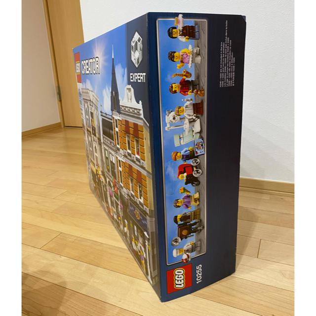 Lego(レゴ)のレゴ 10255 にぎやかな街角 キッズ/ベビー/マタニティのおもちゃ(知育玩具)の商品写真