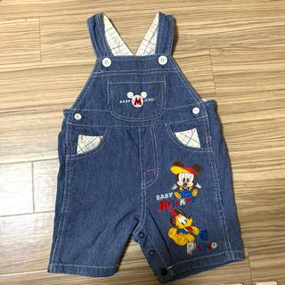 Disney - Disney baby オーバーオール 90