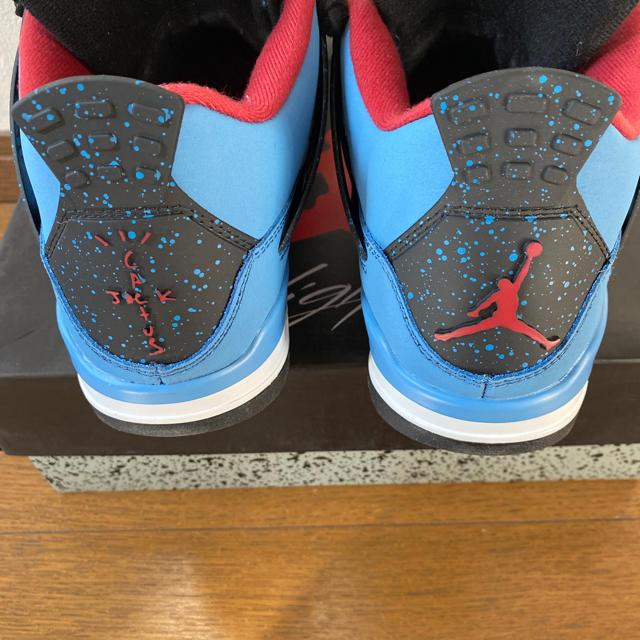 nike airjordan4 cactus jack Travis Scott メンズの靴/シューズ(スニーカー)の商品写真