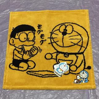 レア♪【新品】ドラえもん タオルハンカチ☆刺繍入り アンキパン 暗記パン