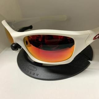 Oakley - オークリー  ピットブル 未使用 新品レンズ 偏光 レッドアイコン