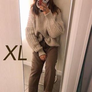 H&M - 新品・タグ付き・XLサイズ H&M エイチアンドエム チャンキーニット