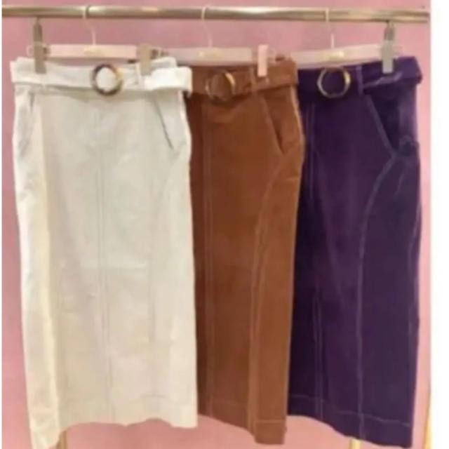 Cherie Mona(シェリーモナ)の新品 シェリーモナ  コーデュロイ スカート レディースのスカート(ロングスカート)の商品写真