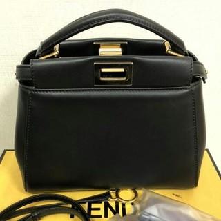 FENDI - FENDI ミニピーカブー(黒)