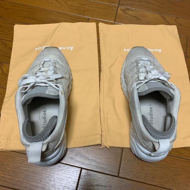 ACNE(アクネ)のacne studious メンズの靴/シューズ(スニーカー)の商品写真