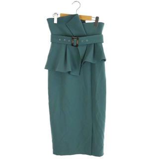 snidel - スナイデル snidel 19SS ハイウエストペプラムスカート