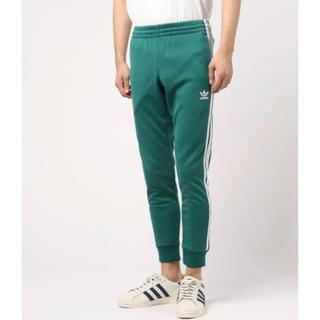 アディダス(adidas)の【adidas】ラインパンツ グリーン 緑(ジャージ)